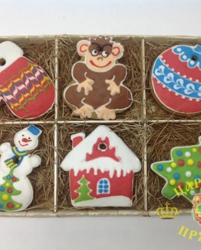 10-001 Пряник  Имбирное печенье