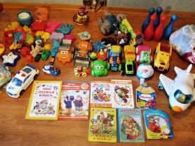 Большой пакет игрушек для малыша 1-3 лет