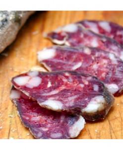 Колбаса из конины и свинины
