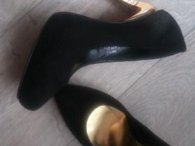 Туфли, нат.замша 38 размер