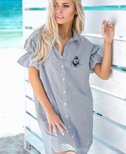 Очаровательное платье-рубашка Gepur