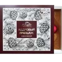 Кедровый грильяж в шоколадной глазури классический 120 г