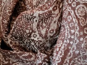 слинг-шарф  Ellevill paisley java бамбук-лен 4,7м