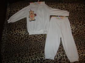 новый велюровый костюм р, 86 BabyGo