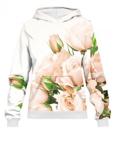 Худи женское Нежный букет роз