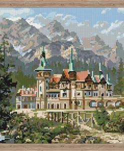 Замок Спящей красавицы - алмазная мозаика