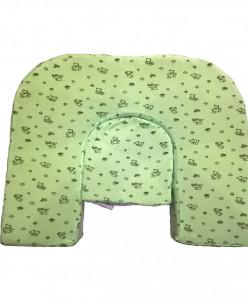 Подушка для кормления двойни Milk Rivers Twins нежно-зеленая