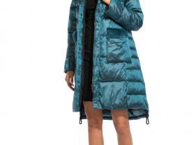 Новое зимнее пальто с мехом норки