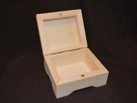 Шкатулка квадратная с магнитом,заготовка