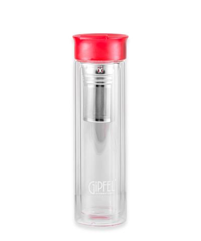 8344 GIPFEL Бутылка для воды MARTINO 350мл с фильтром. Матер