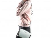 Новая кожаная сумка Италия белый лак