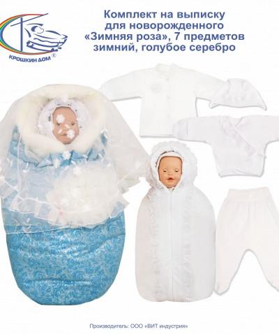 Зимний комплект одежды на выписку