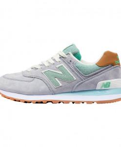 Кроссовки New Balance 574 WL574BCC Gray Green