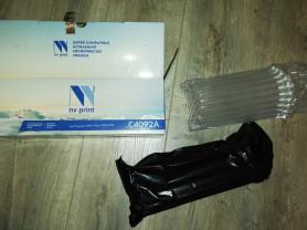 Тонер-картридж NV Print C4092A, новый, черный, для