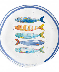 Тарелка закусочная Морской берег без инд.упаковки
