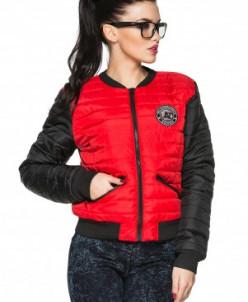 Куртка деми Майя красный