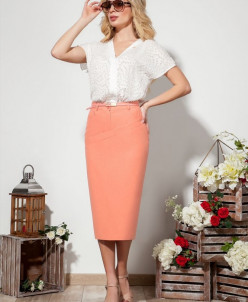 блуза, юбка Dilana VIP Артикул: 1527