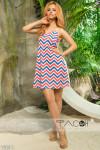 Платье с принтом 13641
