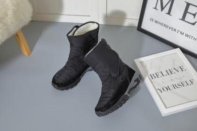Дутики мужские King Boots KB540SW Schwarz Черный