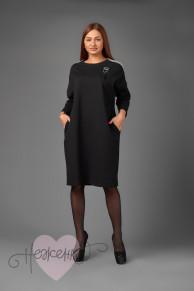Платье П 736/1 (черный