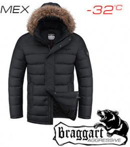 Куртки теплые новинки 1695 черный (2) 52
