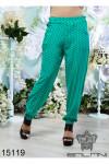 Штапельные брюки - 15119