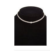Meshmerise 18K Over Sterling Silver Diamond