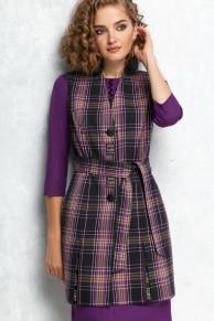 жилет, платье Gizart Артикул: 7128ф