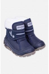 82393 Ботинки (PLAYTODAY)темно-синий