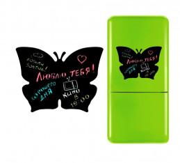 Магнитная доска на холодильник (мел) Бабочка