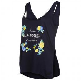 Майка Lee Cooper Split Swing Vest Ladies