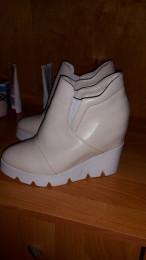 Модные ботинки НИКОЛЬ натуральная кожа