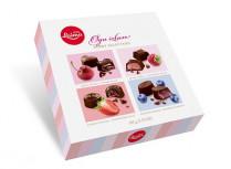 Ягодное ассорти Шоколадные конфеты 105гр