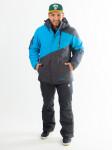 Зимний горнолыжный костюм Snow Headquarter, А-8559, голубой