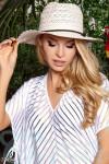 Летняя кружевная шляпа