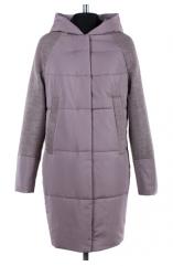 01-6557 Пальто женское демисезонное Валяная шерсть/Плащевка