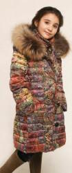 Пальто для девочки УЗОРЫ