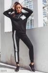 Трикотажный костюм c брюками