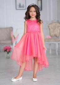 Платье Л*еди коралловое