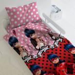 Постельное белье поплин LadyBug Маринет и Леди Баг