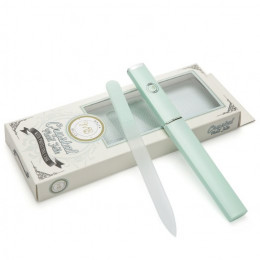 Professional Crystal Glass Nail File with Protective Case