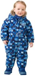 Зимний комбинезон для малышей PREMONT W17401 BLUE