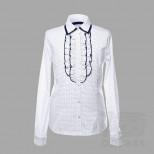 Блузка для девочки длинный рукав