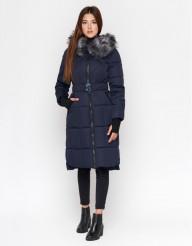 Синяя женская современная куртка модель 18013