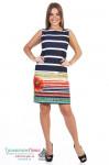 Платье женское Маки (вискоза)
