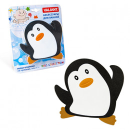 """Мини-коврик на присосках для ванны """"Пингвинёнок"""""""