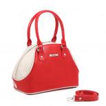 Полукаркасная женская сумка.