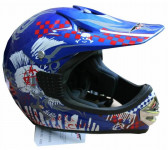 Шлем VCAN V300 PUNK-G/DEEP BLUE USA