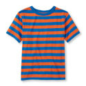 Beginning of Product Name Boys Striped Basic Tee