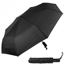 Зонт мужской черный автоматический 95 см